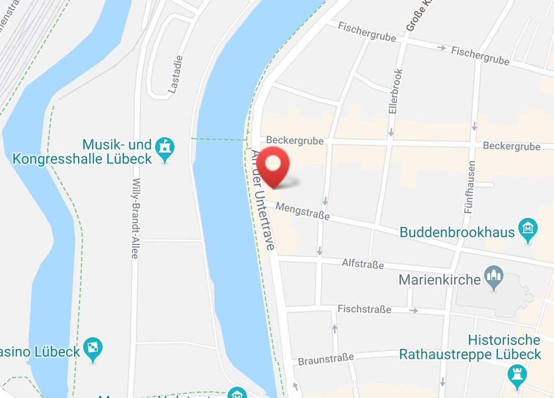 Plastisch-Ästhetische-Chirurgie Lübeck Anfahrt